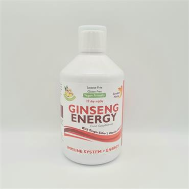 Swedish Nutra Ginseng Energy - 33 Day Supply - Ginger Flavour