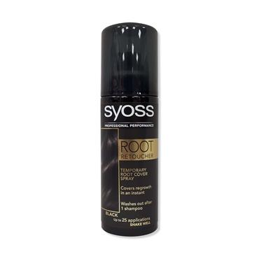 SYOSS Professional Performance Root Retoucher Cover Spray Black