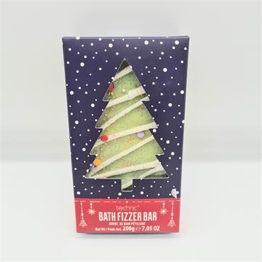 Bath Fizzer Bar - Christmas Tree