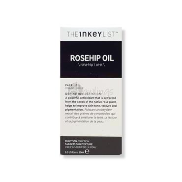 The Inkey List Rosehip Oil - Skin Texture