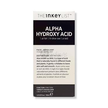 The Inkey List Alpha Hydroxy Acid Exfoliant - Rough Skin