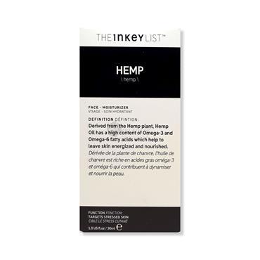 The Inkey List Hemp Moisturiser - Stressed Skin