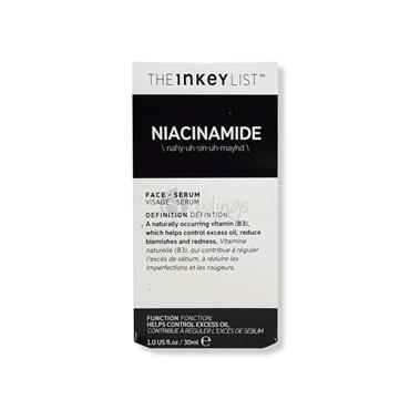 The Inkey List Niacinamide Serum - Excess Oil
