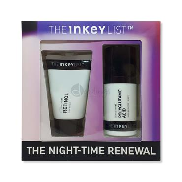 The Inkey List The Night-time Renewal Set