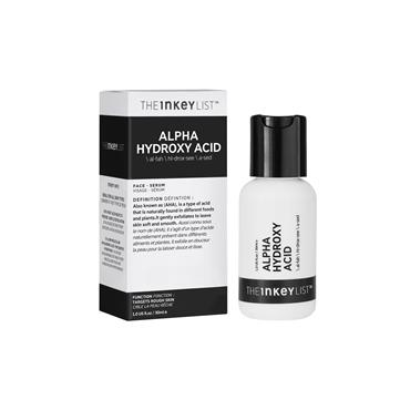 The Inkey List Alpha Hydroxy Acid - Exfoliate - Smooth Skin Texture