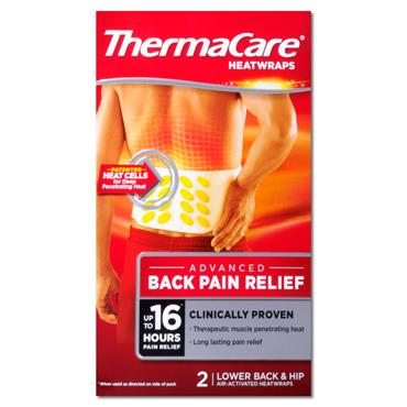 Thermacare Back 1 Size 2 S