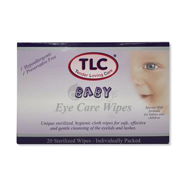 TLC Baby Eye Care Wipes