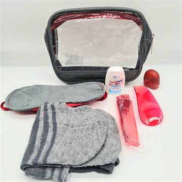Travel Kit Clear Bag