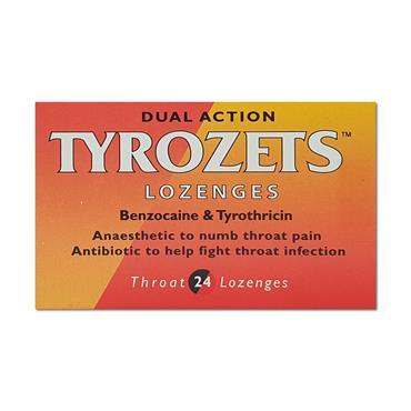 Tyrozets Lozs 24 Pack Mcneil