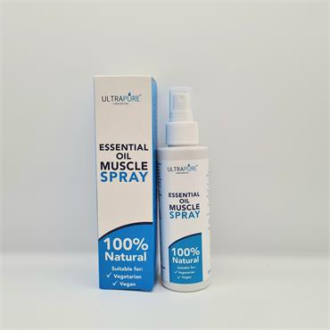 Ultrapure Essential Oil Muscle Spray 150ml