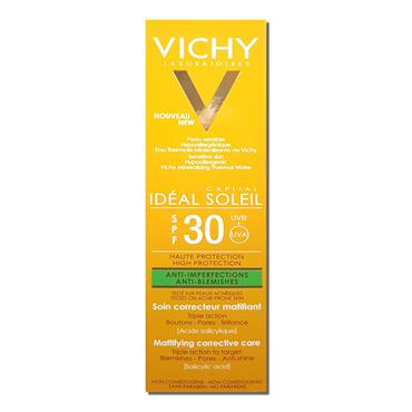 Vichy Ideal Soleil Spf 30 Anti - Blemishes