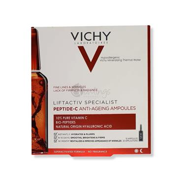 Vichy LiftActiv Specialist Peptide-C Anti Ageing Ampoules - 20 Applications