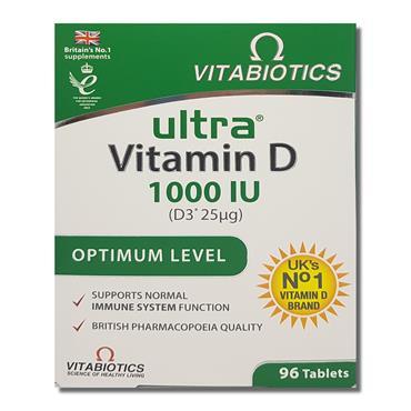 Vitabiotics Ultra D3 96 S