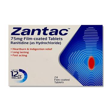 Zantac 75Mg Tablets 24 Pack