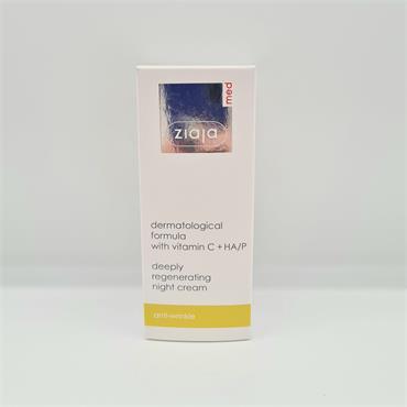 Ziaja Vitamin C Regenerating Night Cream - 50ml