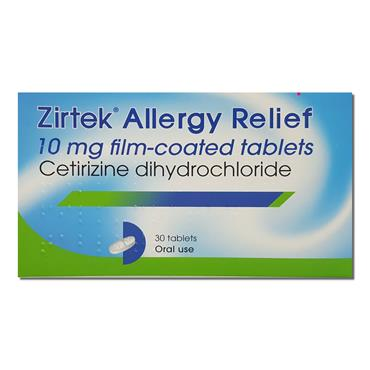 Zirtek Tablets 30 Pack