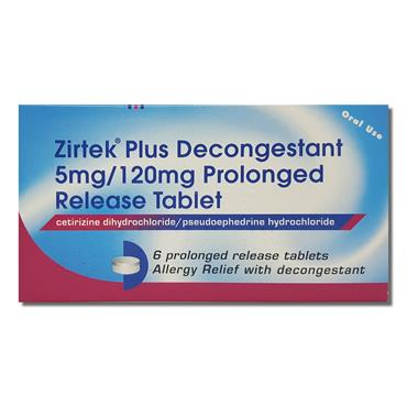 Zirtek Plus Deconges Tant