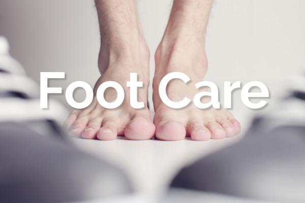 Shop foot care