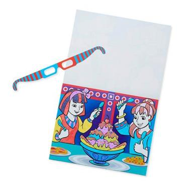 3D Marker Colouring Pad - Multi-Themed