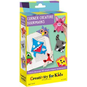 CFK 6129 CORNER CREATURE BOOKMARKS