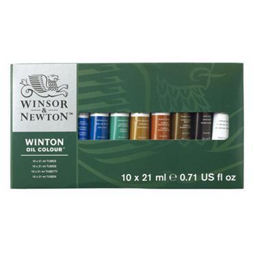 W&N - Winton Oil - 10 x 21ml Basic Set