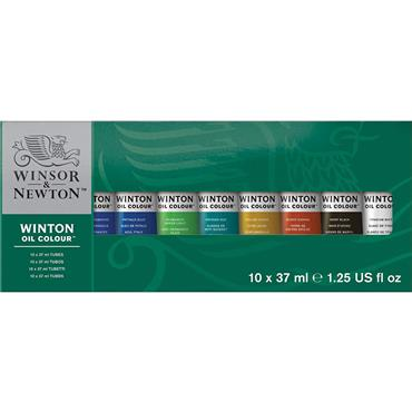 W&N - Winton Oil - 10 x 37ml Starter Set