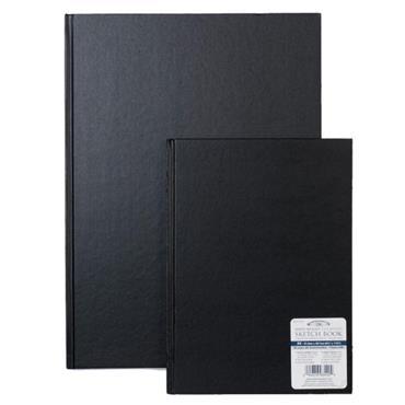 Black 170G A5 H/Back Skbk