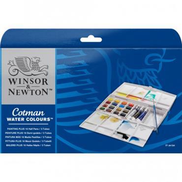 W&N - Cotman Watercolour - Painting Plus 1