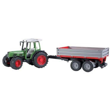 FENDT 209S TRACTOR W/TIPPING TRAILER
