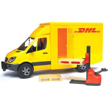 * MB SPRINTER DHL AND HAND PALLET TRUCK