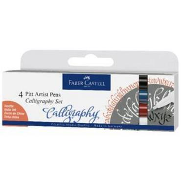 PITT ARTIST CALLIGRAPHY SET WLT OF 4