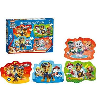 Paw Patrol Four Large Shaped Puzzles
