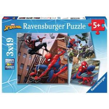 Spider-man - 3 X 49 pc Jigaw Puzzle