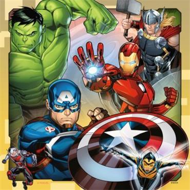 Marvel Avengers -  3 X 49 pc Jigaw Puzzle