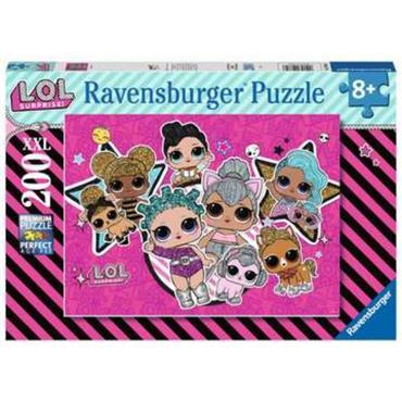 L.O.L. Girl power -  XXL 200 Piece Jigsaw Puzzle