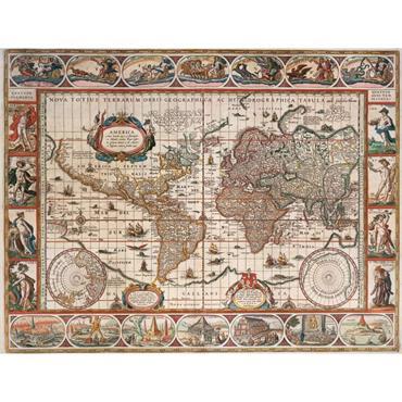 World Map 1650 2000