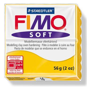 Mod. clay Fimo soft sunflower