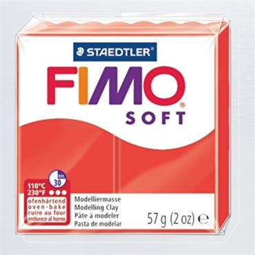 Mod. clay Fimo soft indian red