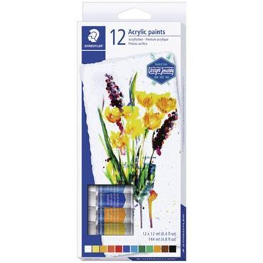 Acrylic paint tubes12pc