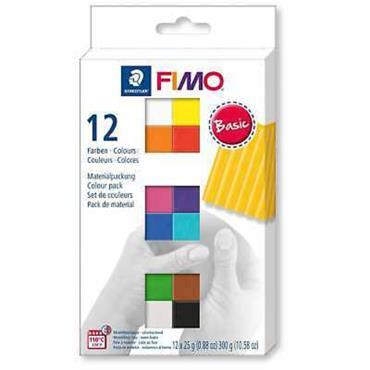 Set Mod. clay Fimo soft MP BaC