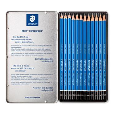 Pencil Mars Lumograph x12 100% PEFC