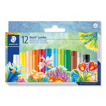 Oil pastels NC jumbo 12pcs.