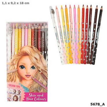 TOPModel Coloured Pencil Set (