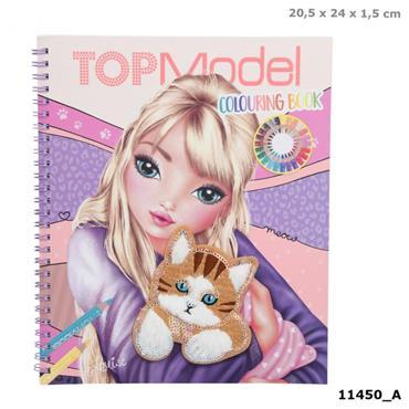 TOPModel Colouring Book CAT