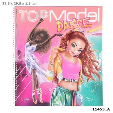 TOPModel DANCE Colouring Book