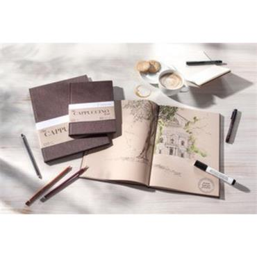 Cappuccino Book - A5 Sketchbook