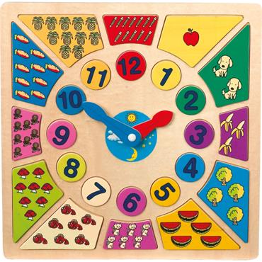 Multi-Coloured Learning Clock