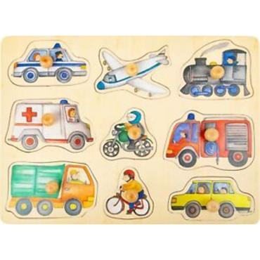 City Vehicles Puzzle