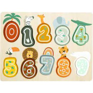 "Numbers Puzzle ""Safari"""