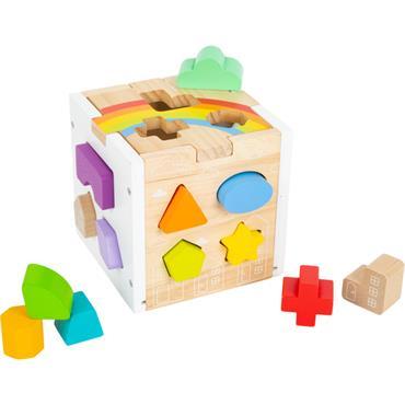 Shape-Fitting Cube Rainbow